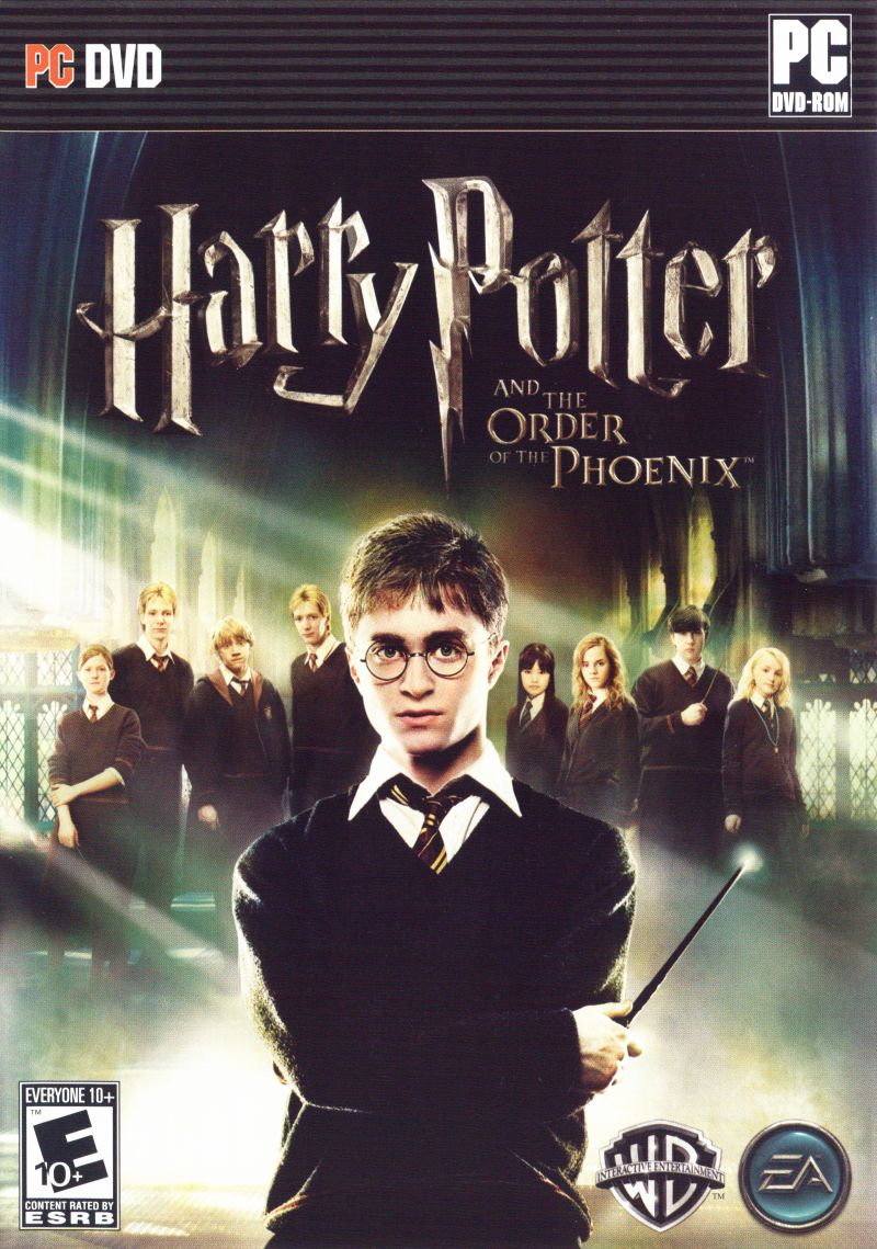 Harry Potter and the Order of the Phoenix Windows Front Cover