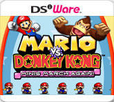 Mario vs. Donkey Kong: Minis March Again! Nintendo DSi Front Cover