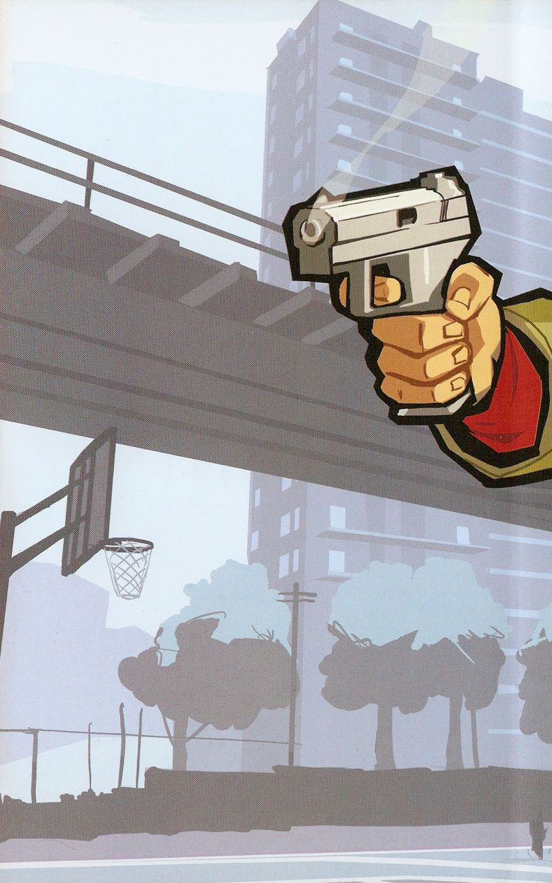 Grand Theft Auto: Chinatown Wars PSP Inside Cover Left