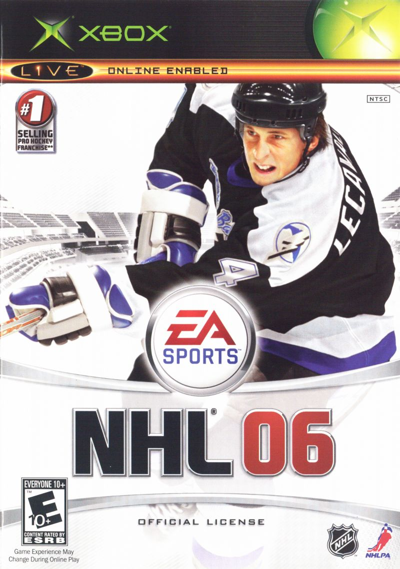 NHL 06 Xbox Front Cover