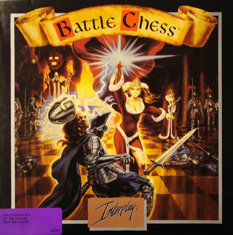Battle Chess Apple IIgs Front Cover