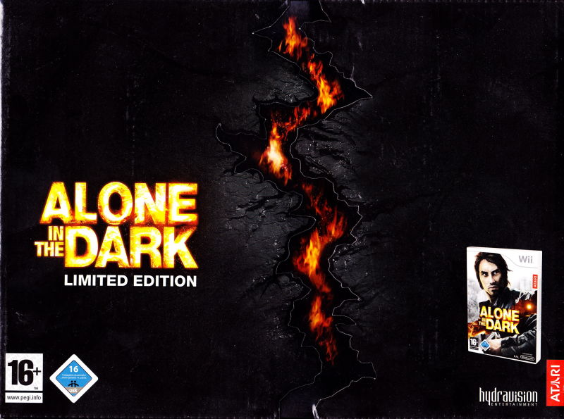 Alone in the Dark (Limited Edition) Wii Front Cover