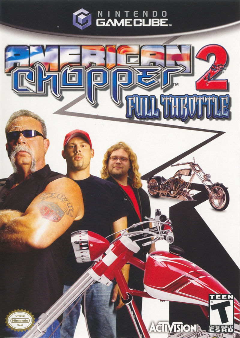 American Chopper 2: Full Throttle GameCube Front Cover
