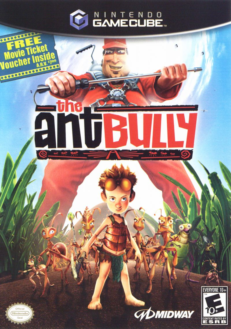 The Ant Bully GameCube Front Cover
