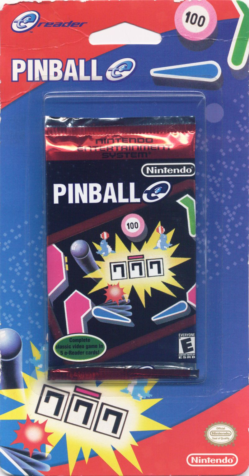 Pinball Game Boy Advance Front Cover