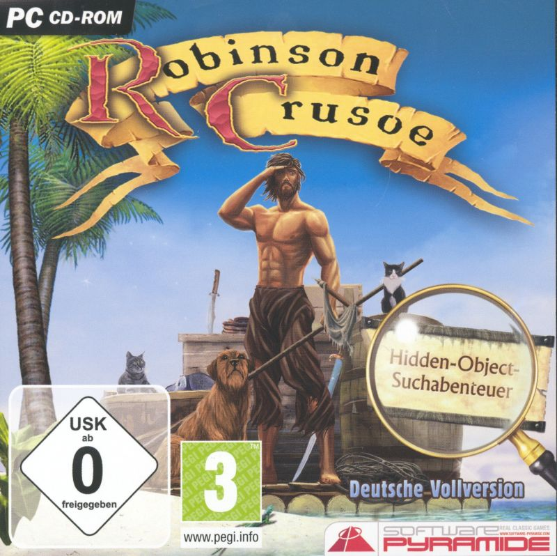 Adventures of Robinson Crusoe Windows Front Cover