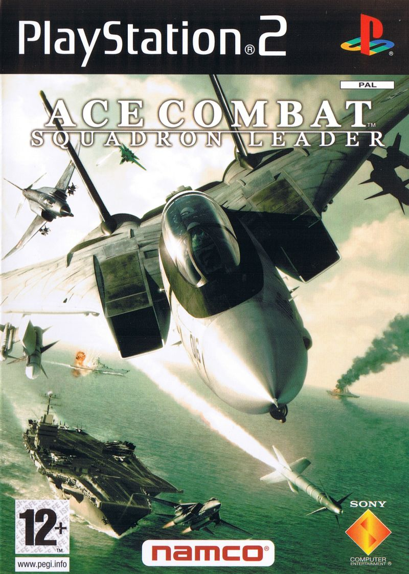 Ace Combat 5: The Unsung War PlayStation 2 Front Cover
