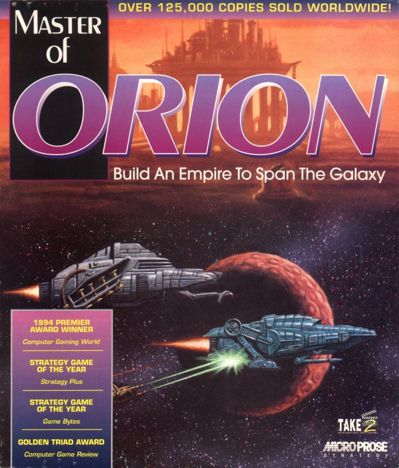 Master of Orion Macintosh Front Cover