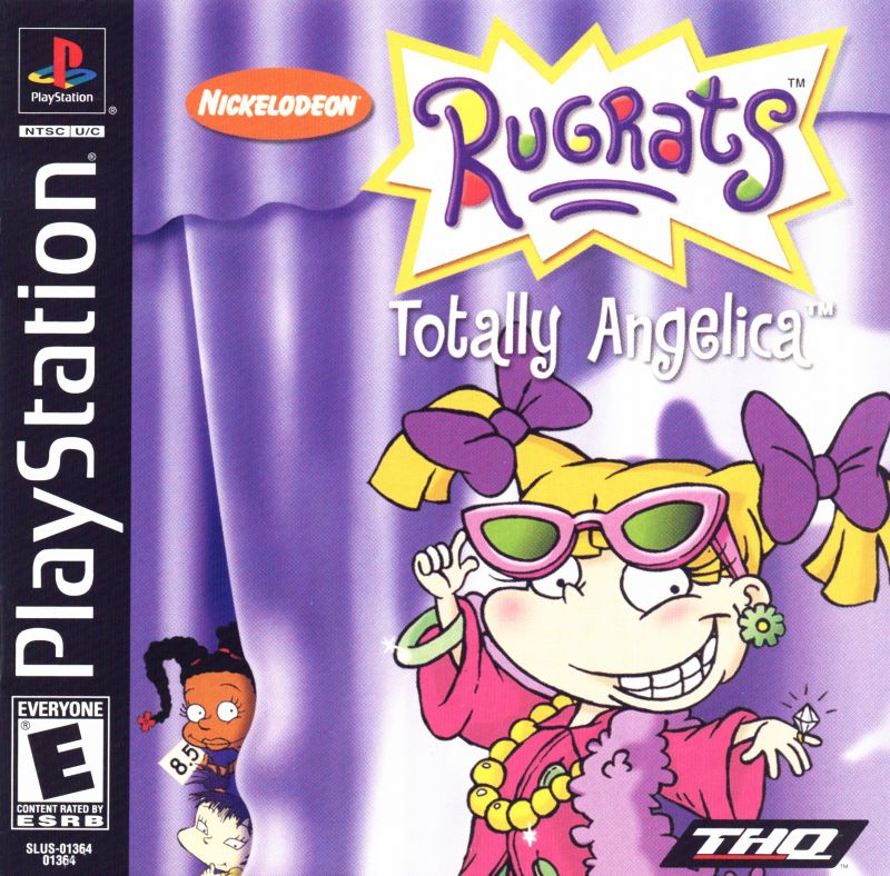 Rugrats: Totally Angelica PlayStation Front Cover