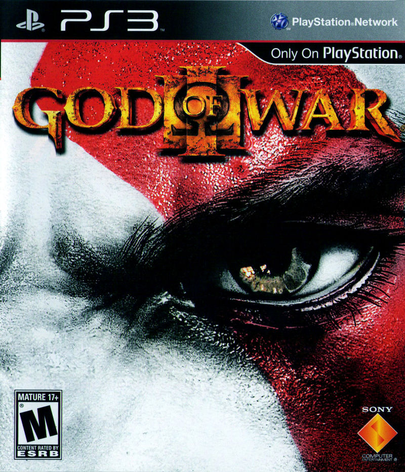 God of War III PlayStation 3 Front Cover