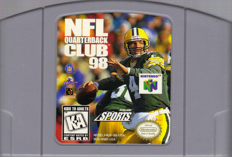 NFL Quarterback Club 98 Nintendo 64 Media