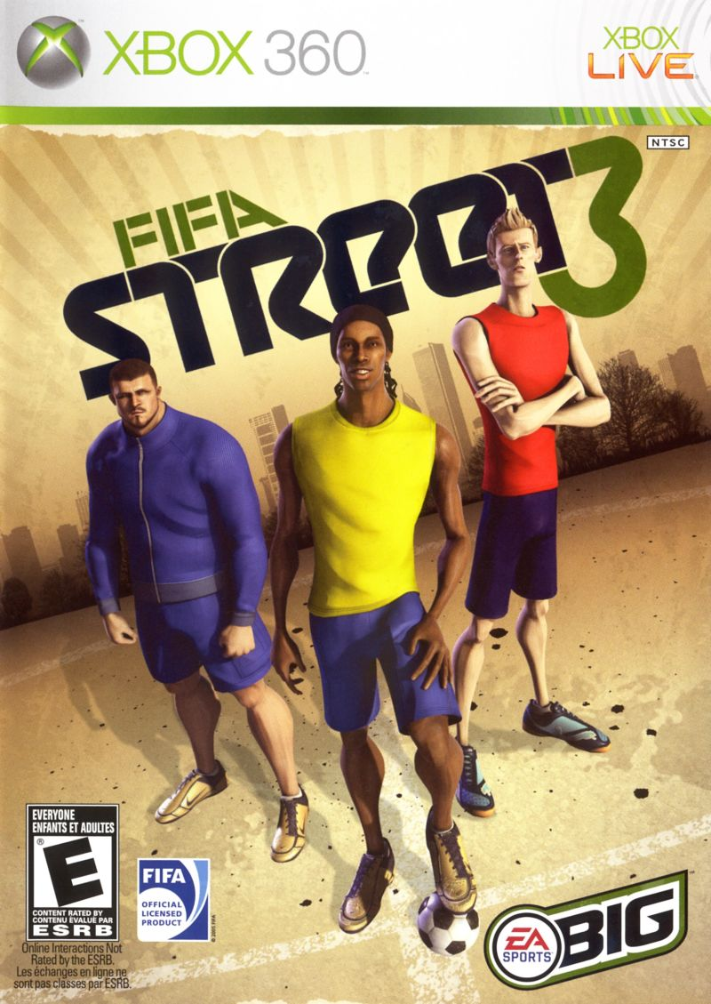 FIFA Street 3 Xbox 360 Front Cover