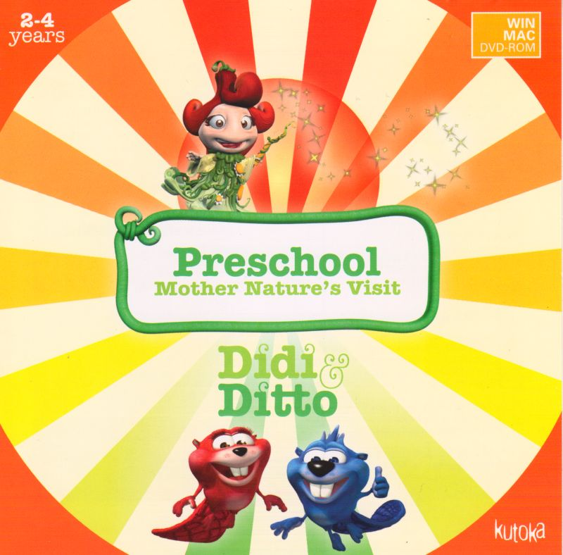 Didi & Ditto Preschool - Mother Nature's Visit Macintosh Front Cover