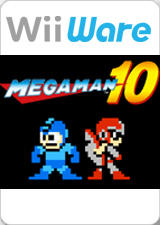 Mega Man 10 Wii Front Cover