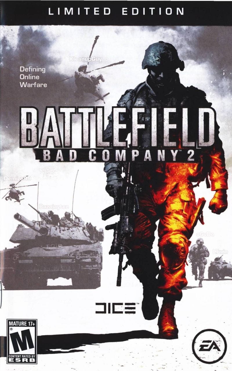 Battlefield: Bad Company 2 (Limited Edition) Windows Front Cover