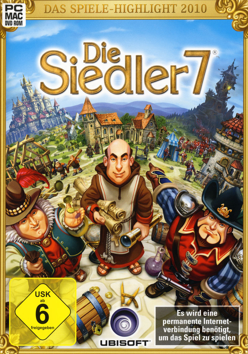 The Settlers 7: Paths to a Kingdom (Collector Edition) Macintosh Other Keep Case - Front