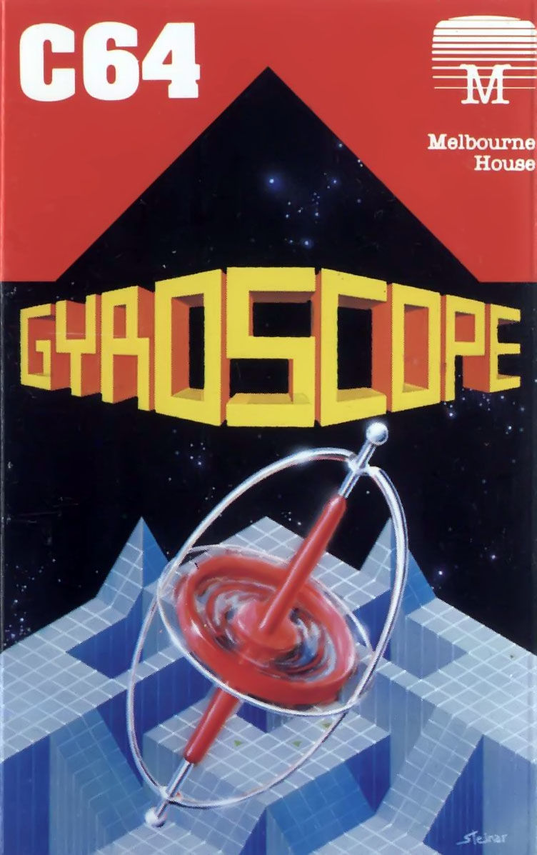 Gyroscope Commodore 64 Front Cover