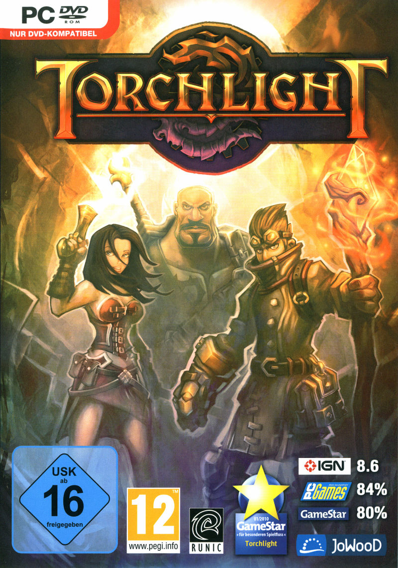 Torchlight Windows Front Cover