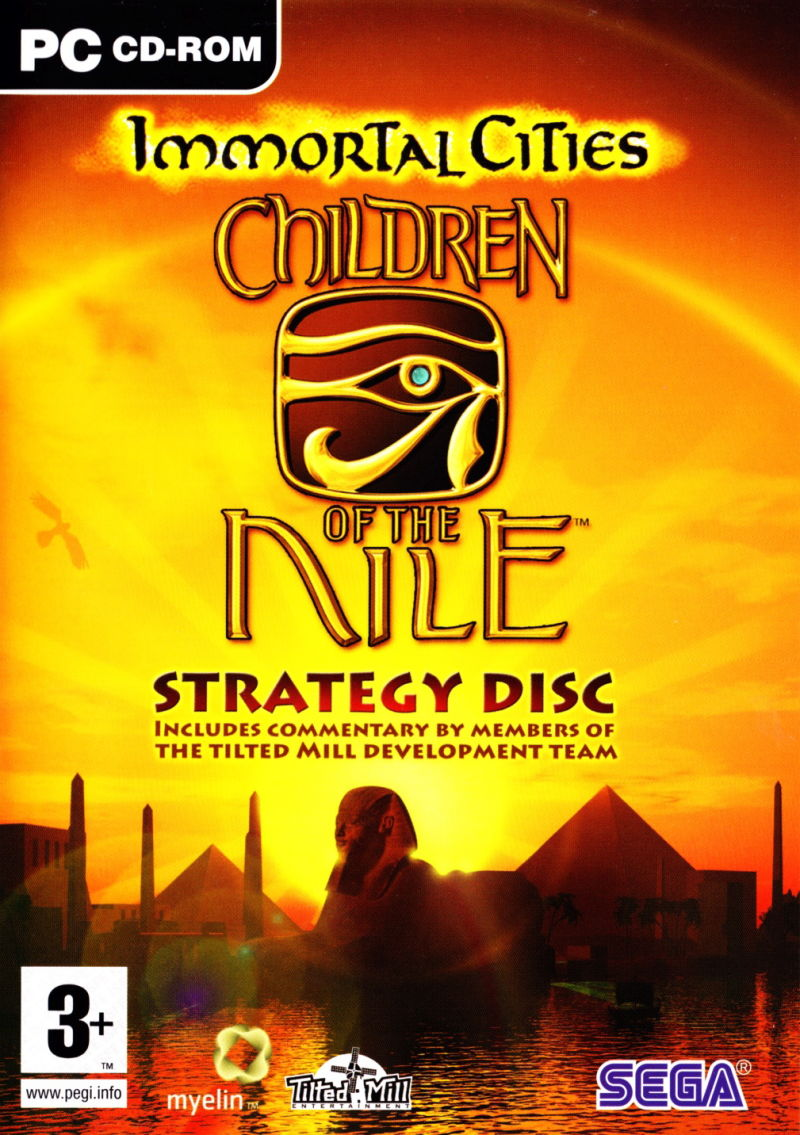 Immortal Cities: Children of the Nile Windows Other Keep Case - Strategy Disc - Front