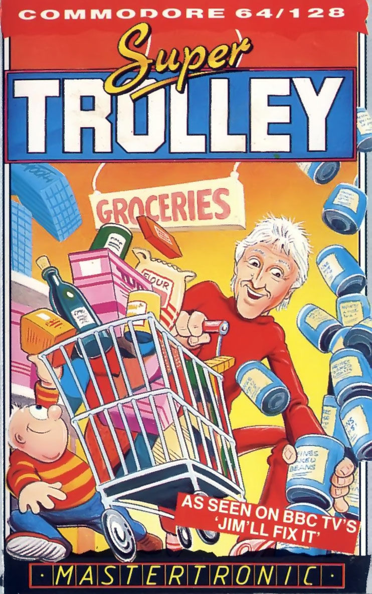 Super Trolley Commodore 64 Front Cover