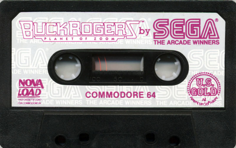 Buck Rogers: Planet of Zoom Commodore 64 Media