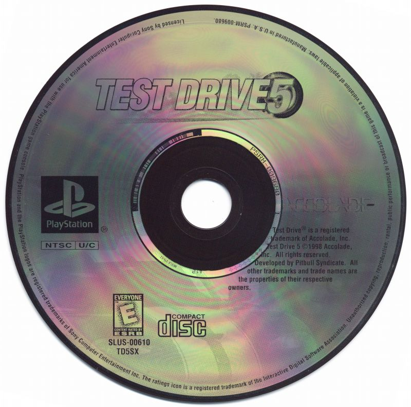 Test Drive 5 PlayStation Media