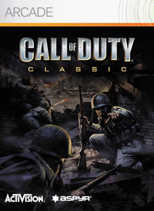 Call of Duty Xbox 360 Front Cover