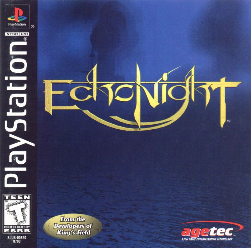 Echo Night PlayStation Front Cover