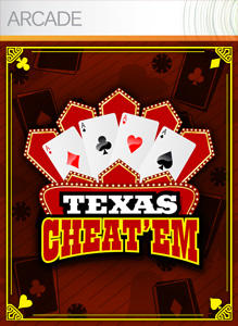 Texas Cheat 'em Xbox 360 Front Cover