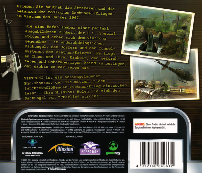 Vietcong Windows Other Jewel-Case Back-Cover