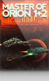 Master of Orion 1+2 Windows Front Cover