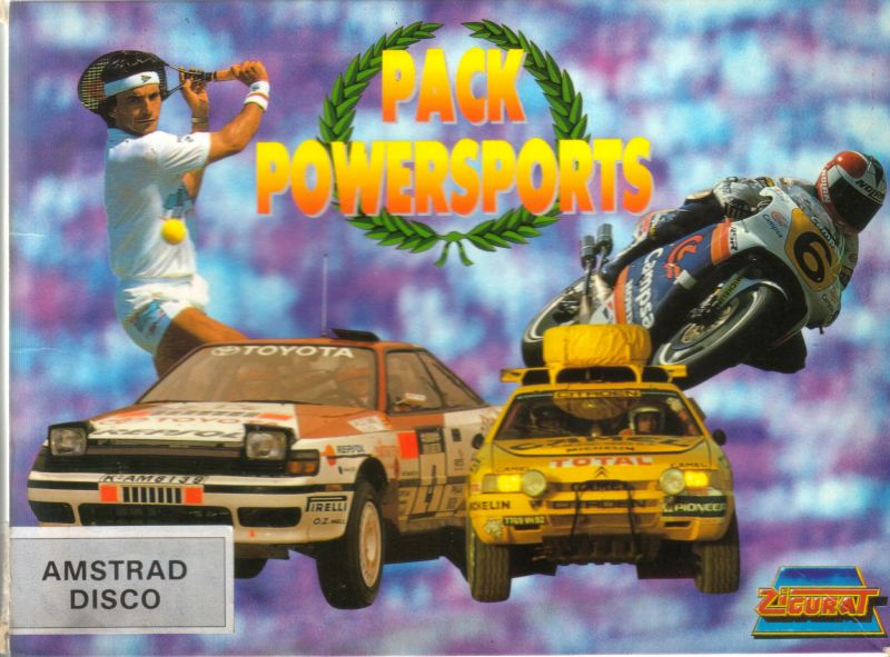 Pack Powersports Amstrad CPC Front Cover