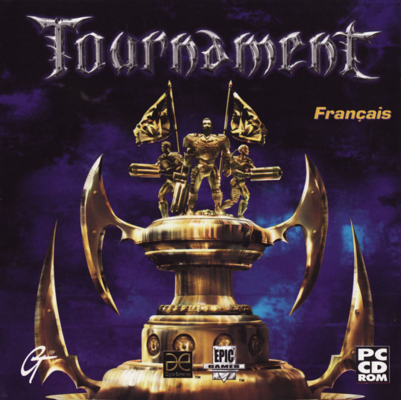 Unreal Tournament Windows Other Jewel Case - Front
