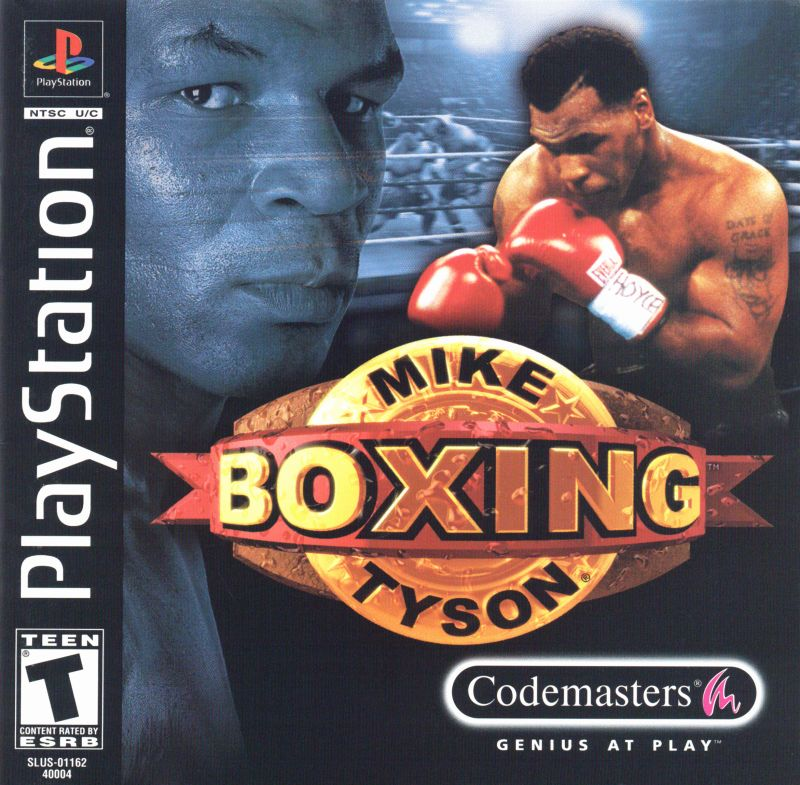 Mike Tyson Boxing PlayStation Front Cover