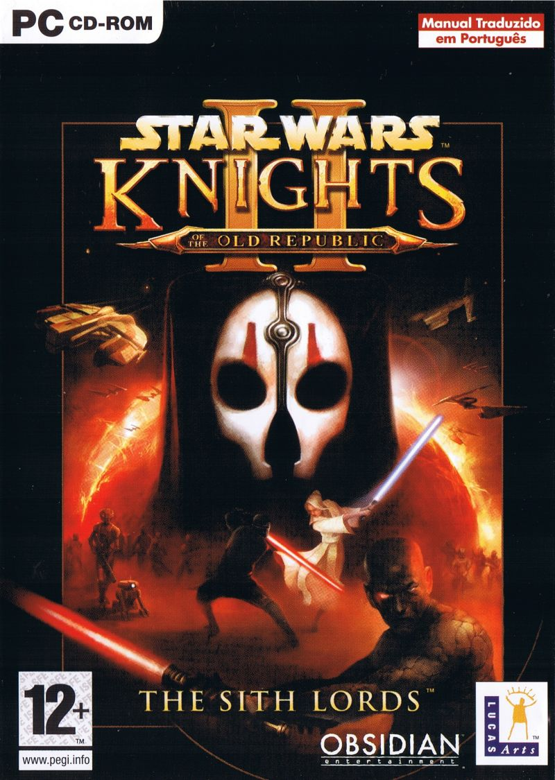 Star Wars: Knights of the Old Republic II - The Sith Lords Windows Front Cover