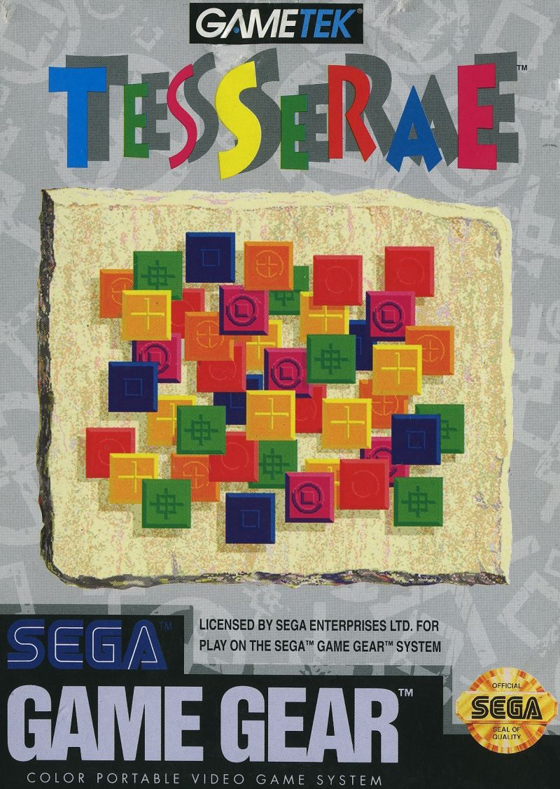 Tesserae Game Gear Front Cover