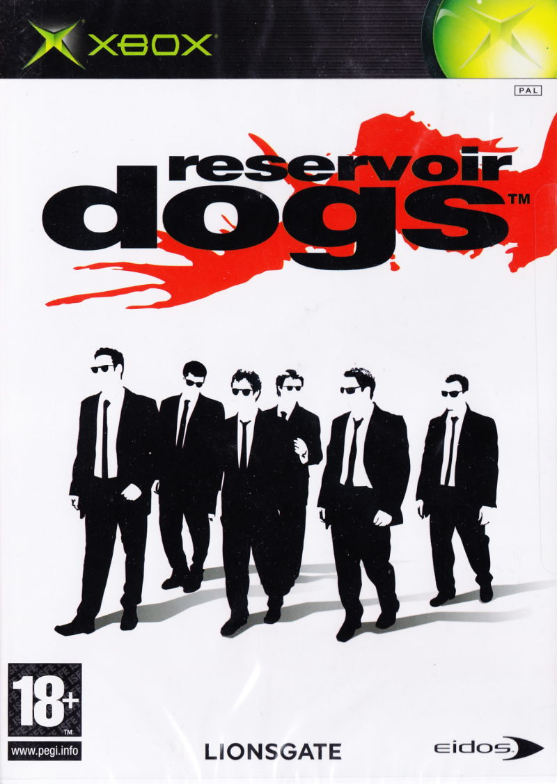 Reservoir Dogs Xbox Front Cover