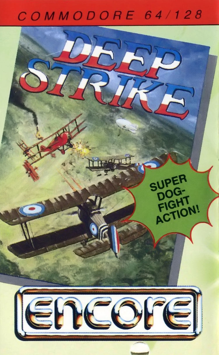 Deep Strike Commodore 64 Front Cover