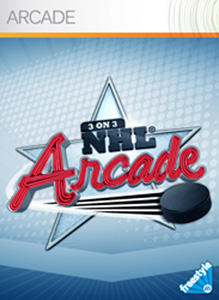 3 on 3 NHL Arcade Xbox 360 Front Cover