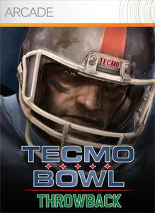 Tecmo Bowl Throwback Xbox 360 Front Cover
