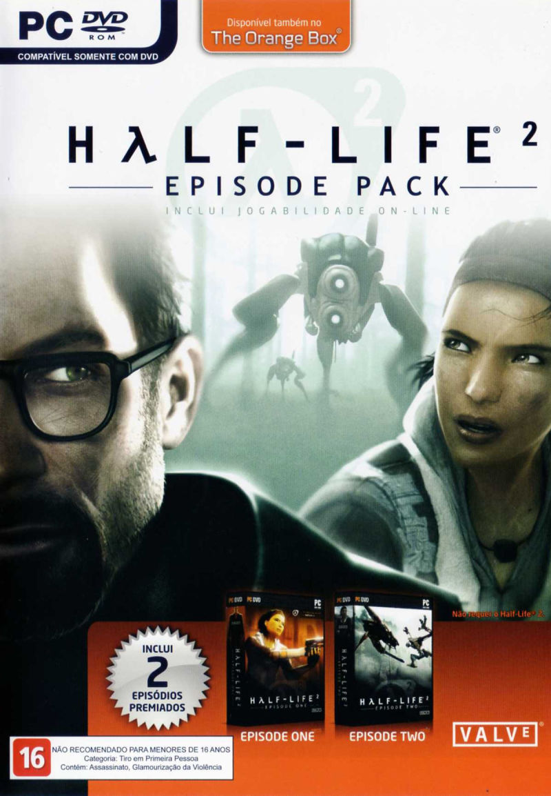 The Orange Box Windows Other Keep Case Front - Half-Life 2 Episode Pack