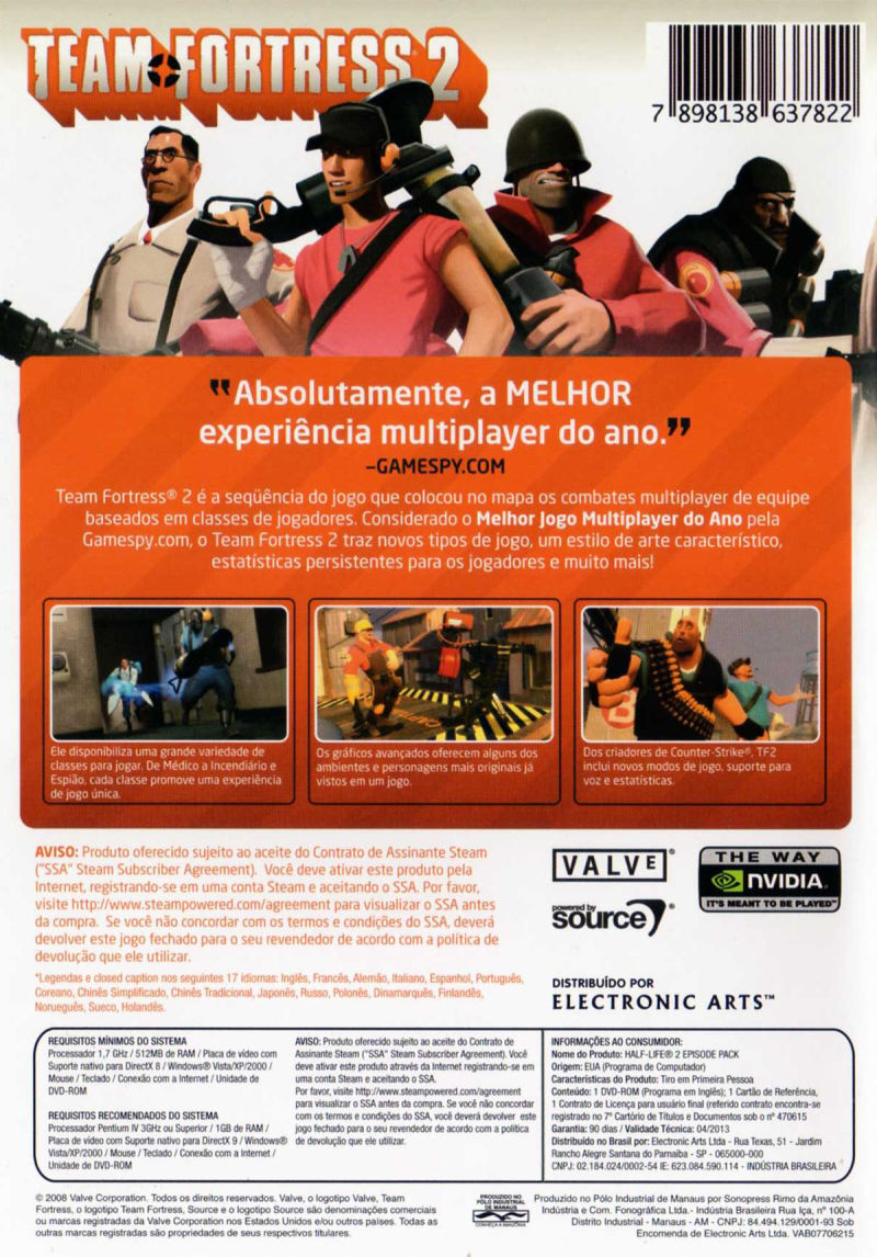 Team Fortress 2 Windows Back Cover