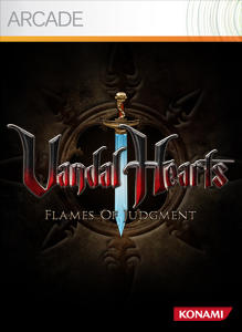 Vandal Hearts: Flames of Judgement Xbox 360 Front Cover