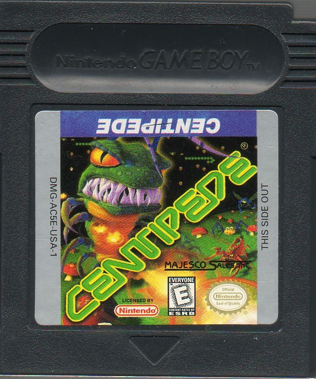 Centipede Game Boy Color Media