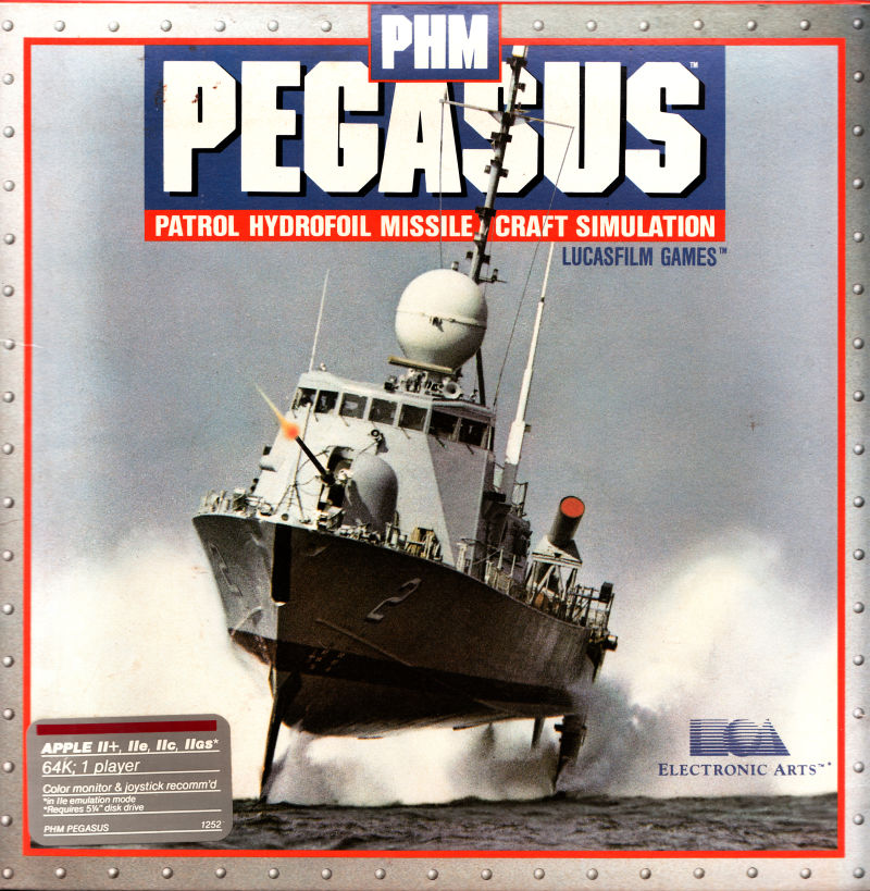 PHM Pegasus Apple II Front Cover