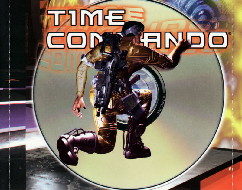 Time Commando DOS Other Jewel Case - inside right