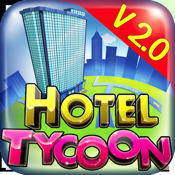 Hotel Tycoon iPhone Front Cover v 2.0 release