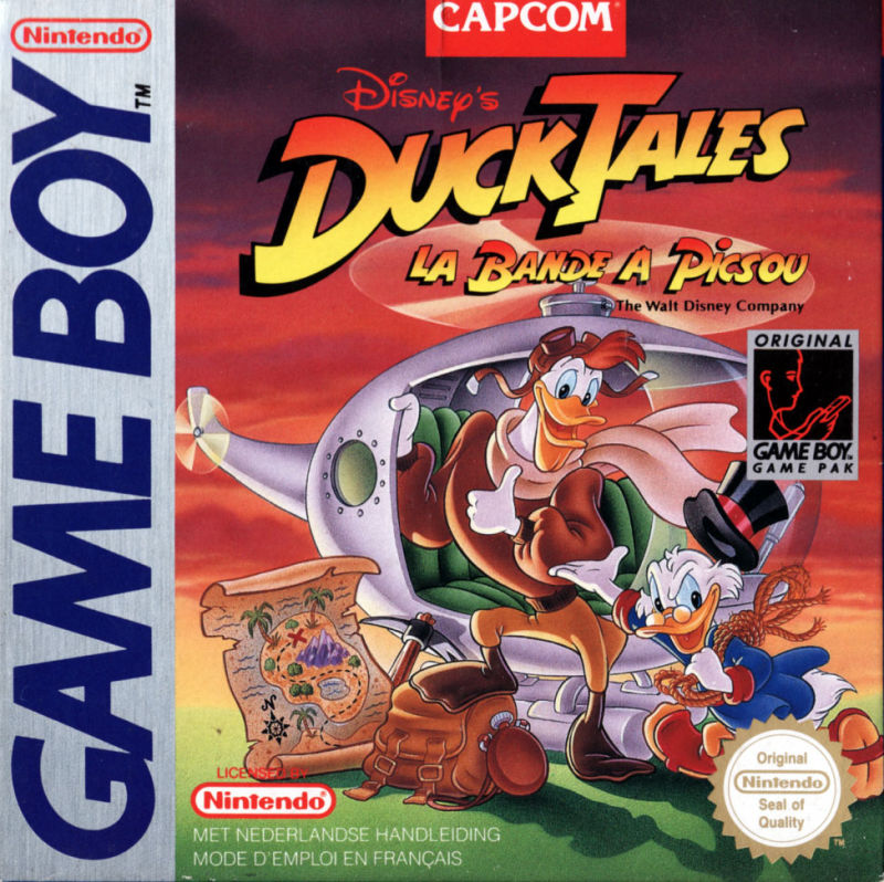 Disney's DuckTales Game Boy Front Cover