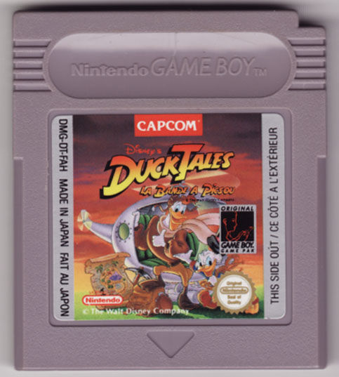 Disney's DuckTales Game Boy Media