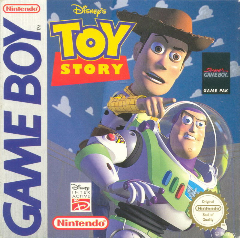 Disney's Toy Story Game Boy Front Cover